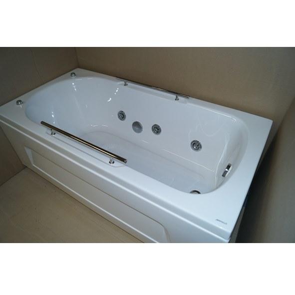 Ванна акриловая Appollo А-1702Q 170*75 см, с гидромассажем
