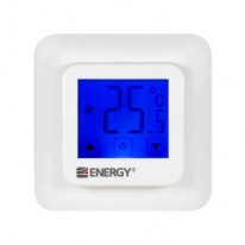 Терморегулятор для теплого пола Energy TK 07, с сенсорным дисплеем