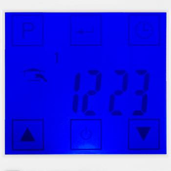 Терморегулятор для теплого пола Energy TK 08, с сенсорным дисплеем, программируемый