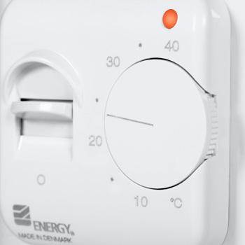 Терморегулятор для теплого пола Energy OTN 1991RUE, электромеханический