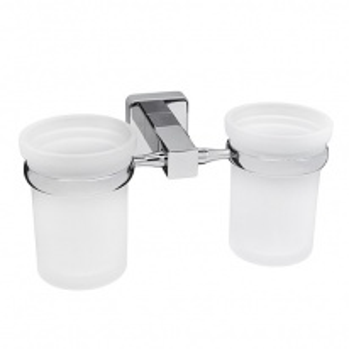 Стакан для зубных щеток WasserKRAFT Lippe K-6528D двойной