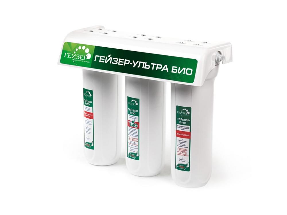 Стационарный фильтр Гейзер Ультра Био 441 18052 для железистой воды