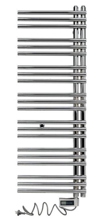 Полотенцесушитель электрический Aquanet Хелен HB-R3602C 125x45. Комплект 184944