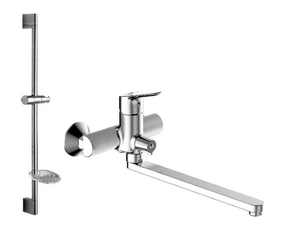 Комплект для ванной комнаты Bravat Drop F00409