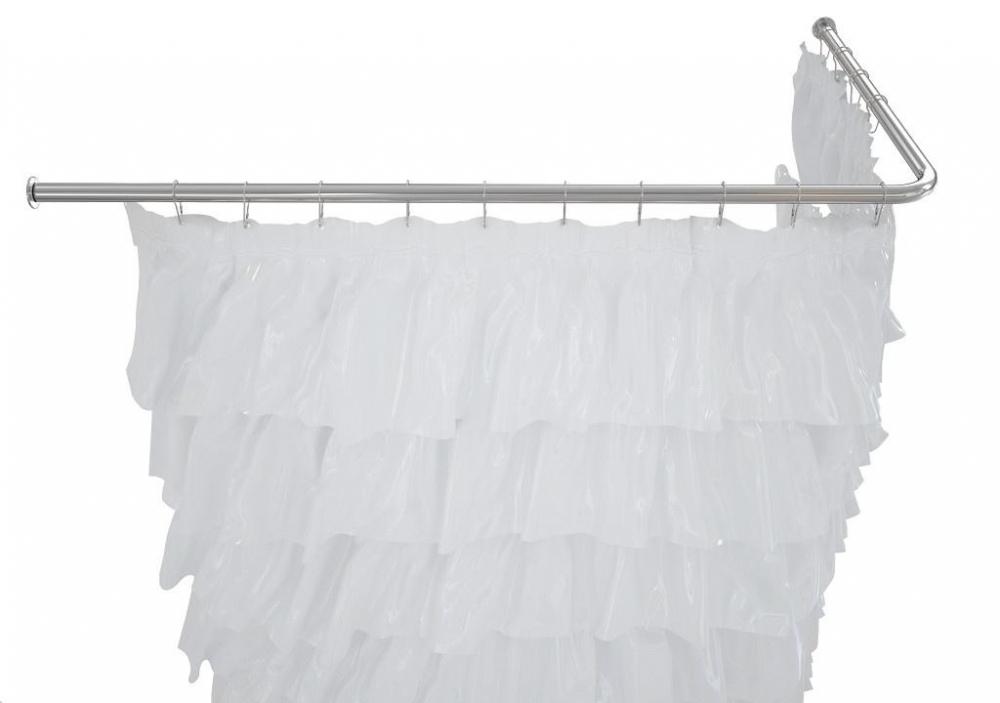 Карниз для ванны Aquanet 00165118 180*80 см Г-образный