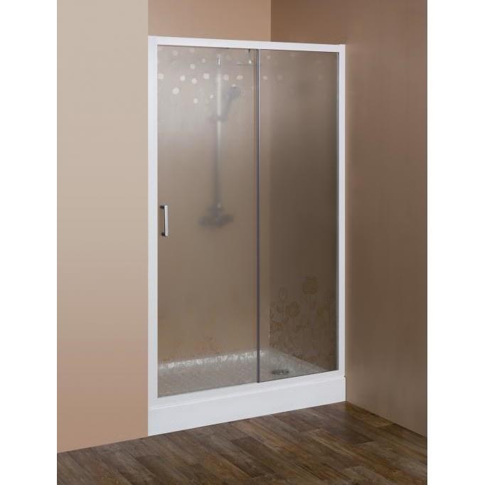 Душевая дверь в проем Cezares Rosa ROSA-BF-1-120-RO-Bi, 120*195 см