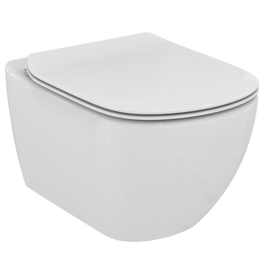 Комплект: Инсталляция Geberit Duofix 458.124.21.1 3 в 1 + Унитаз Ideal Standard Tesi T007901 с крышкой-сиденьем SoftClose