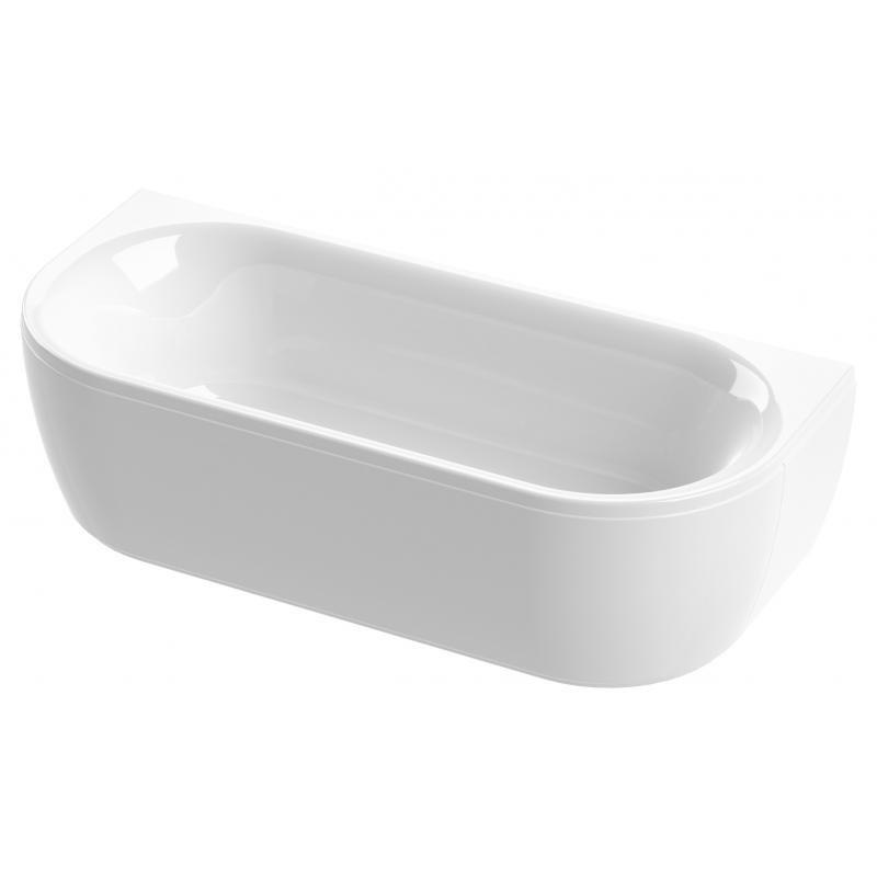 Ванна акриловая Cezares METAURO-wall-180-80-40 180*80 см