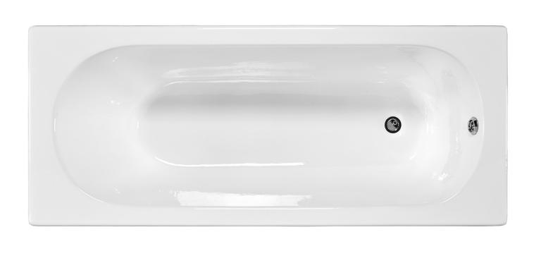 Ванна чугунная Jacob Delafon Nathalie E2962-00, 150*70 см, без ручек