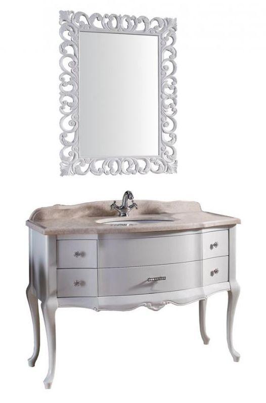 Комплект мебели Demax Престиж 115 Godi 00169364, мрамор бежевый