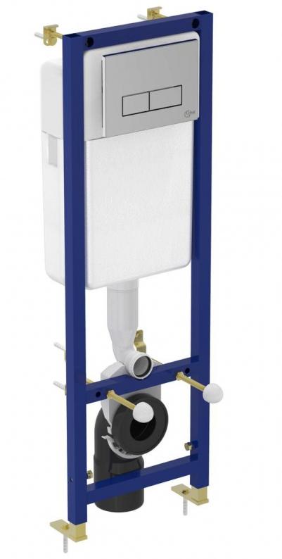 Комплект Ideal Standard W880101: Инсталляция Ideal Standard W3710AA + Унитаз подвесной Ideal Standard Connect E803501 с крышкой-сиденьем SoftClose