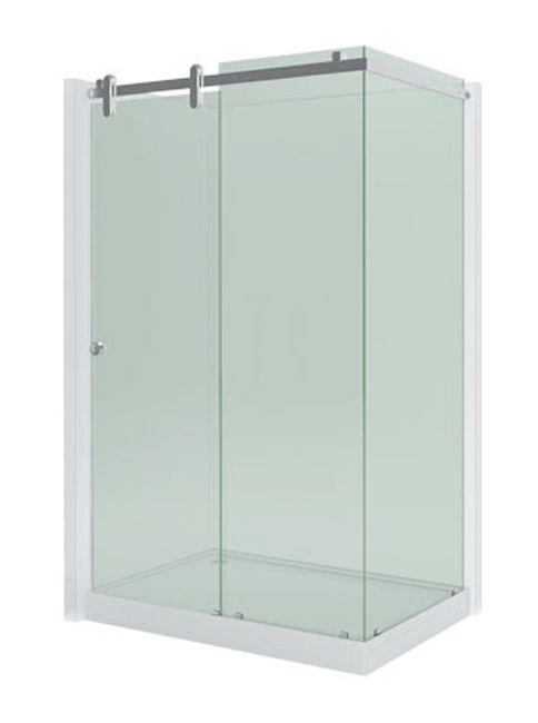 Душевой уголок Aquanet Gamma 1408-12 L/R 140*80*230 см, стекло прозрачное