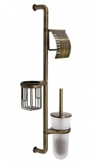 Стойка WasserKraft К-1458 настенная, комбинированная