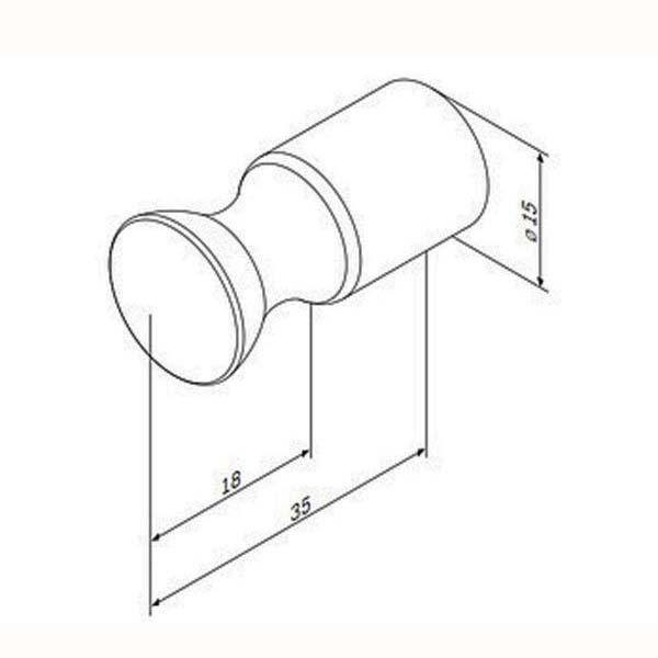 Крючок для полотенец Am.Pm Sensation A3035500