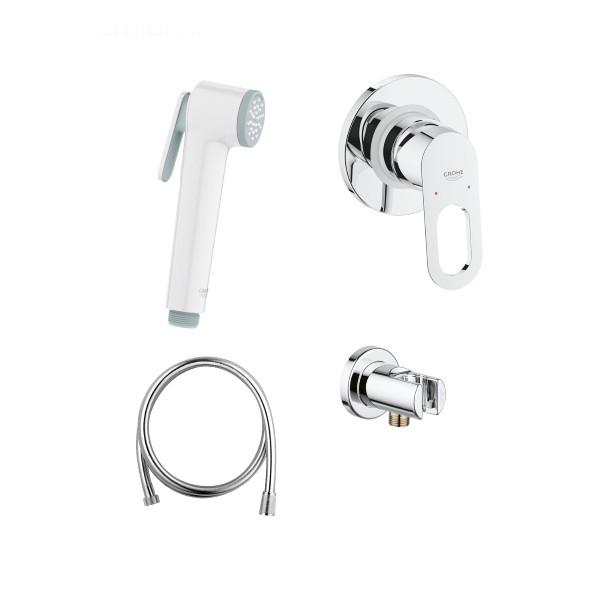 Гигиенический набор Grohe BauLoop 124896, ручной душ белый