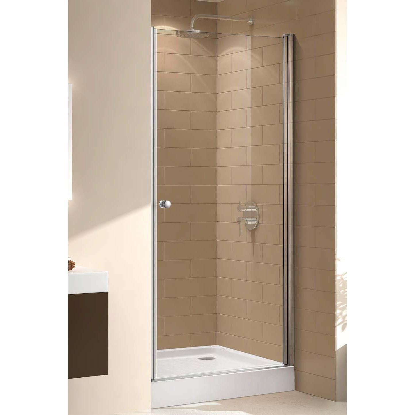 Дверь душевая Cezares ECO-B-1-90-C(P)-Cr, 90 см
