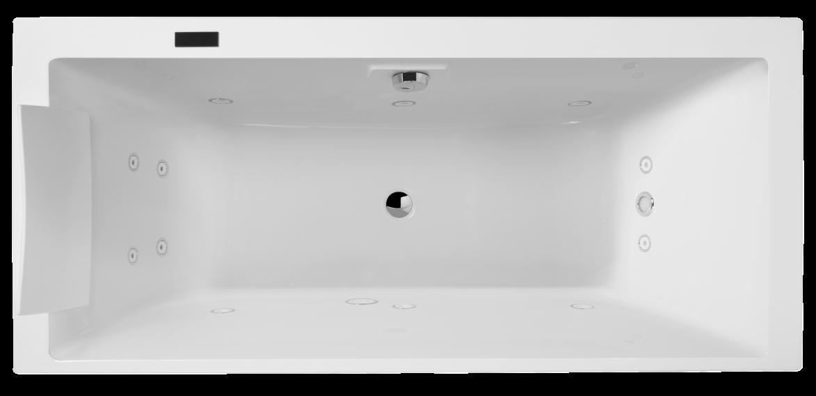 Гидромассажная ванна Jacob Delafon Evok E5BD236R-00 200*100 см c гидромассажем Excellence