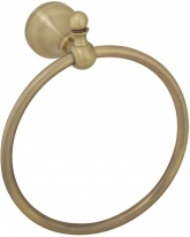 Кольцо полотенцедержатель Veragio Gialetta, бронза VR.GIL-6423.BR