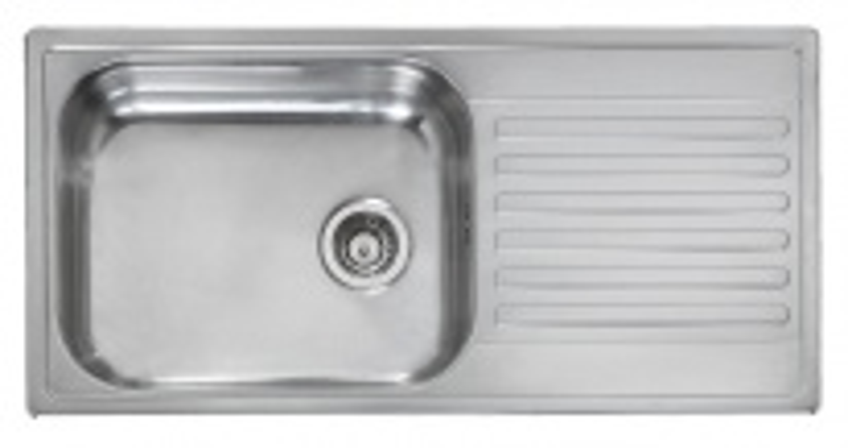 Мойка кухонная Reginox Minister 10 LUX OKG реверсивная сталь