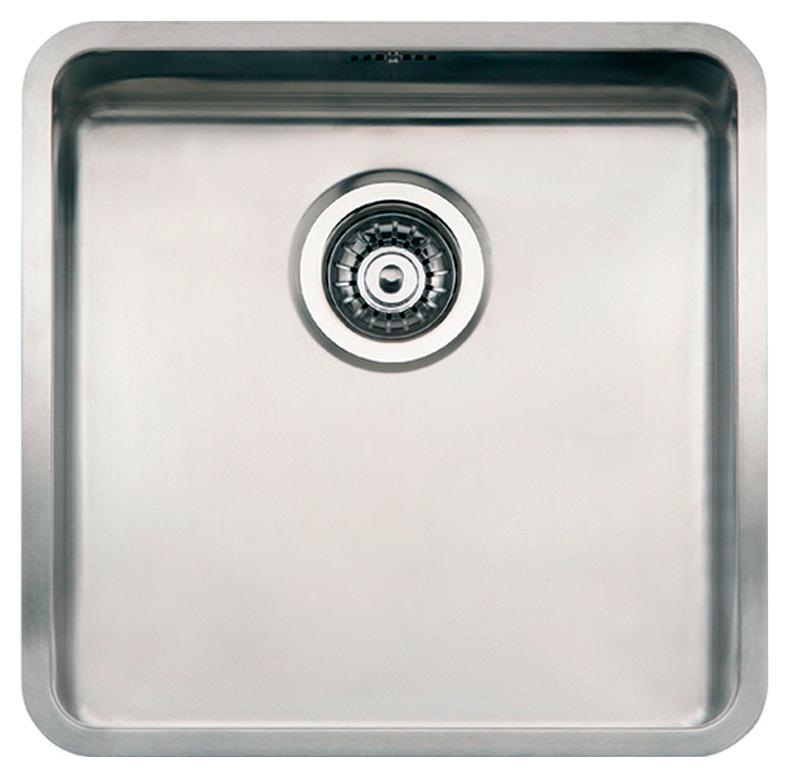 Мойка кухонная Reginox Kansas 40x40 Cuadrat LUX L сталь