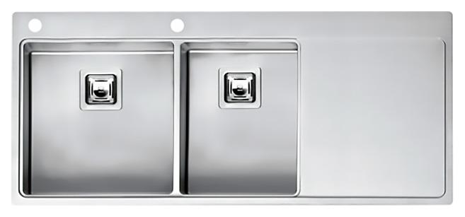 Мойка кухонная Reginox Nevada 40x30 LUX OKG left L сталь