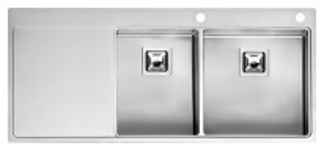 Мойка кухонная Reginox Nevada 30x40 LUX OKG right L сталь