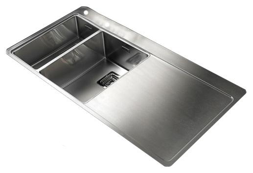 Мойка кухонная Reginox Nevada 18x30 LUX OKG left L сталь