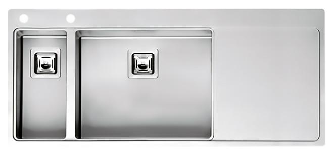 Мойка кухонная Reginox Nevada 18x50 LUX OKG left L сталь