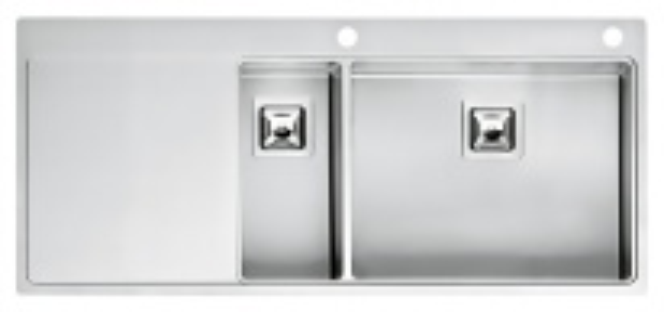 Мойка кухонная Reginox Nevada 18x50 LUX OKG right L сталь