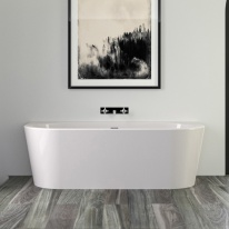 Ванна акриловая Knief Fresh Wall 0100-231 180х80 см