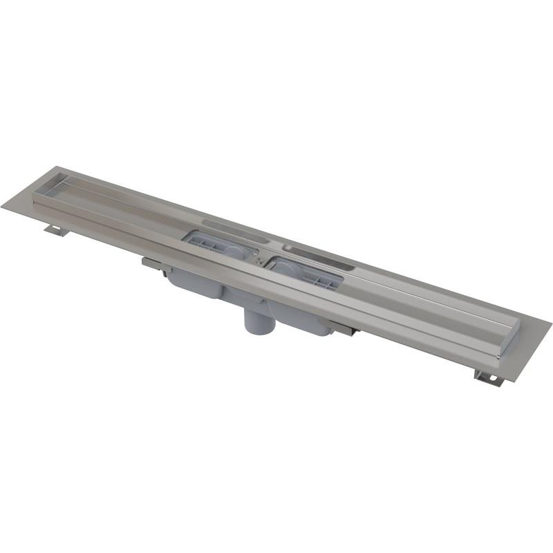 Желоб водоотводящий Alca Plast APZ1101- 750 Low с порогами для перфорированной решетки
