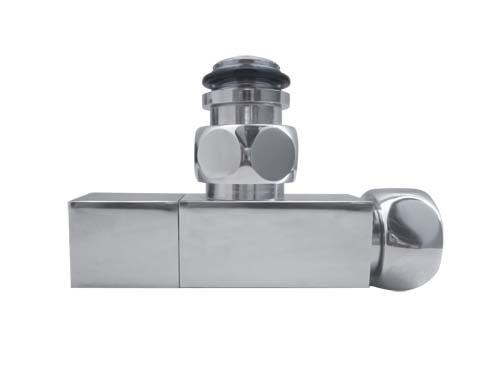 Вентиль угловой квадратный   ZZ2109A 1/2Х3/4 Г/Ш
