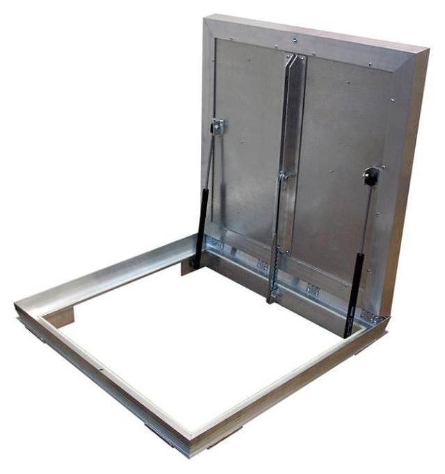 Люк напольный Revizor Лифт Стандарт ширина 60, высота 60