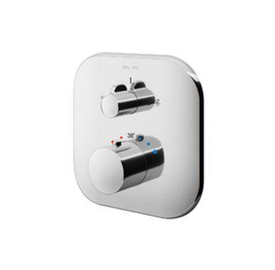 Смеситель термостатический Am.Pm Sensation F3085500 для ванны и душа, встраиваемый, внешняя часть