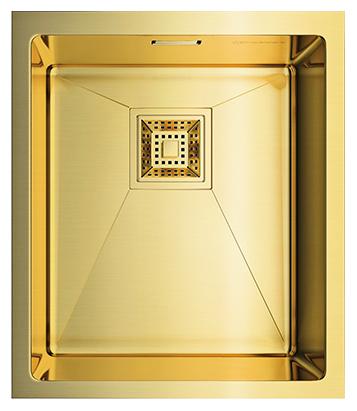 Мойка кухонная Omoikiri Akisame 38-U-LG светлое золото