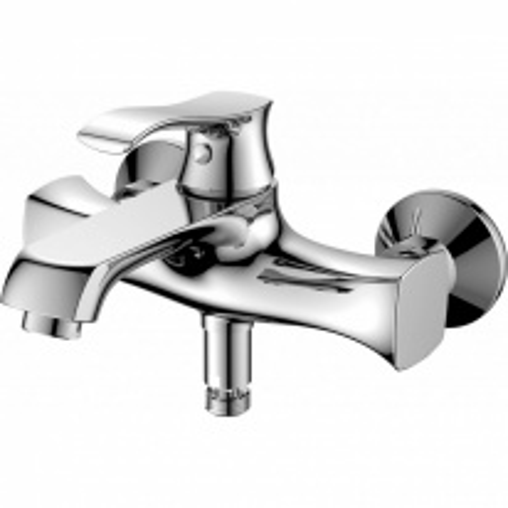 Смеситель для ванны и душа BelBagno Trula TRU-VASM-CRM