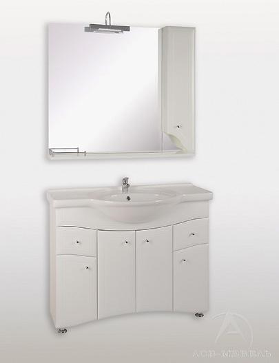 Мебель для ванной АСБ-Мебель Астра нсв 105-2Н R