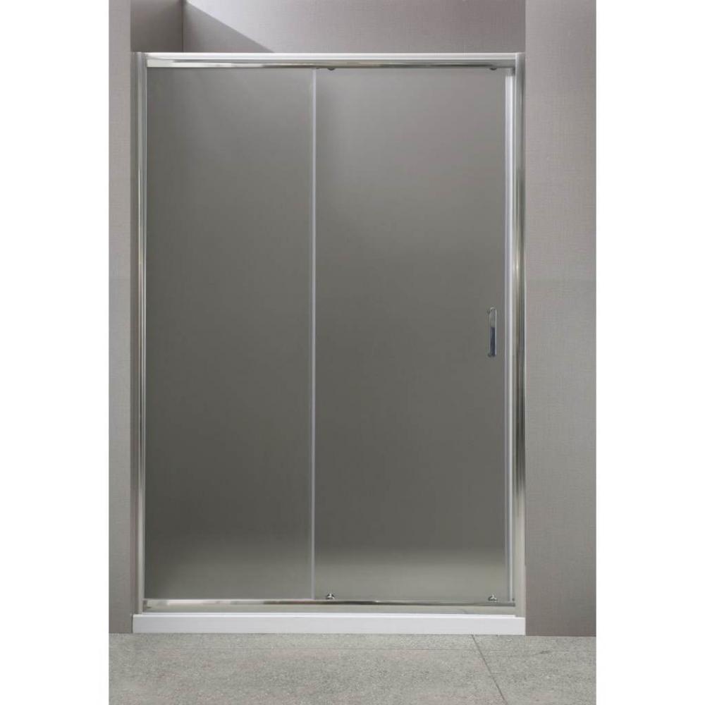 Душевая дверь в проем BelBagno Uno UNO-BF-1-120-Cr