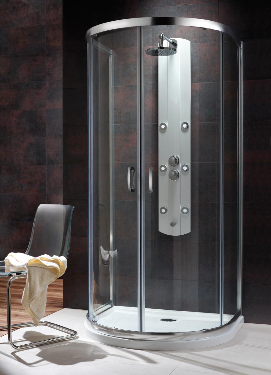 Душевой уголок Radaway Premium Plus P 100 x 90 x 190 прозрачное стекло