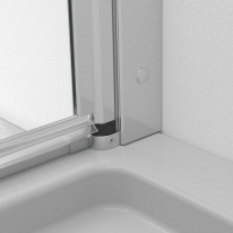Душевой уголок Radaway EOS KDD-B 90x90 прозрачное стекло