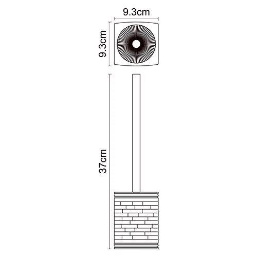 Ершик для туалета WasserKRAFT Main K-4727