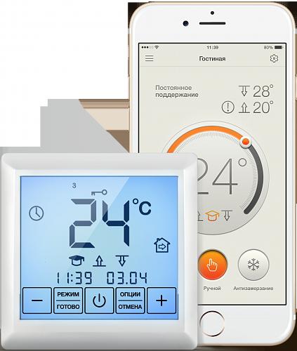 Терморегулятор для теплого пола для теплого пола Теплолюкс MCS 350 4305651322000008