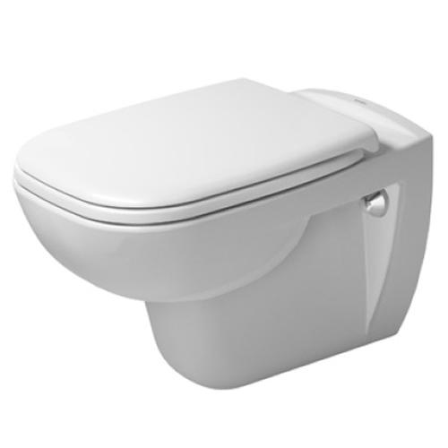 Унитаз Duravit D-Code Rimless 25700900002, подвесной с крышкой-сиденьем SoftClose 0067390000