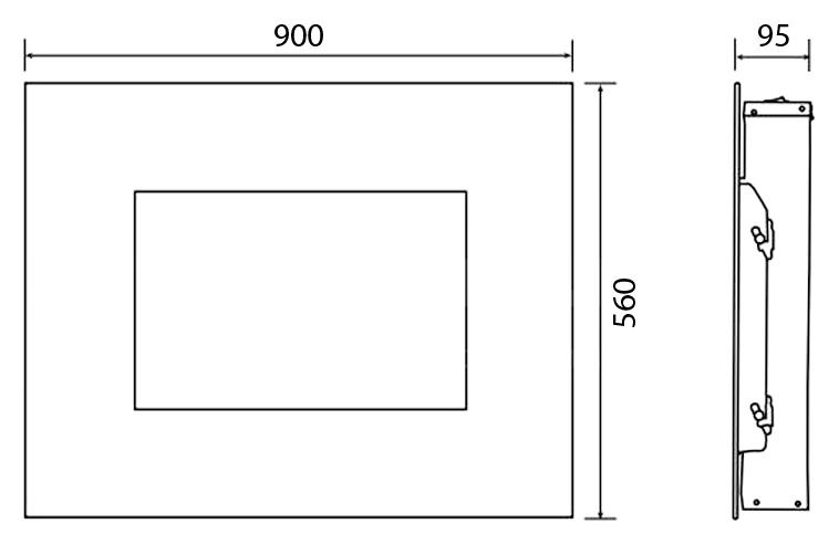 Электрокамин Electrolux EFP/W-1250ULS