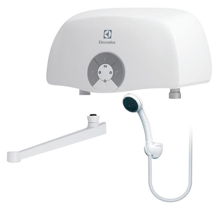 Водонагреватель Electrolux Smartfix 2.0 TS 5,5 kW кран+душ