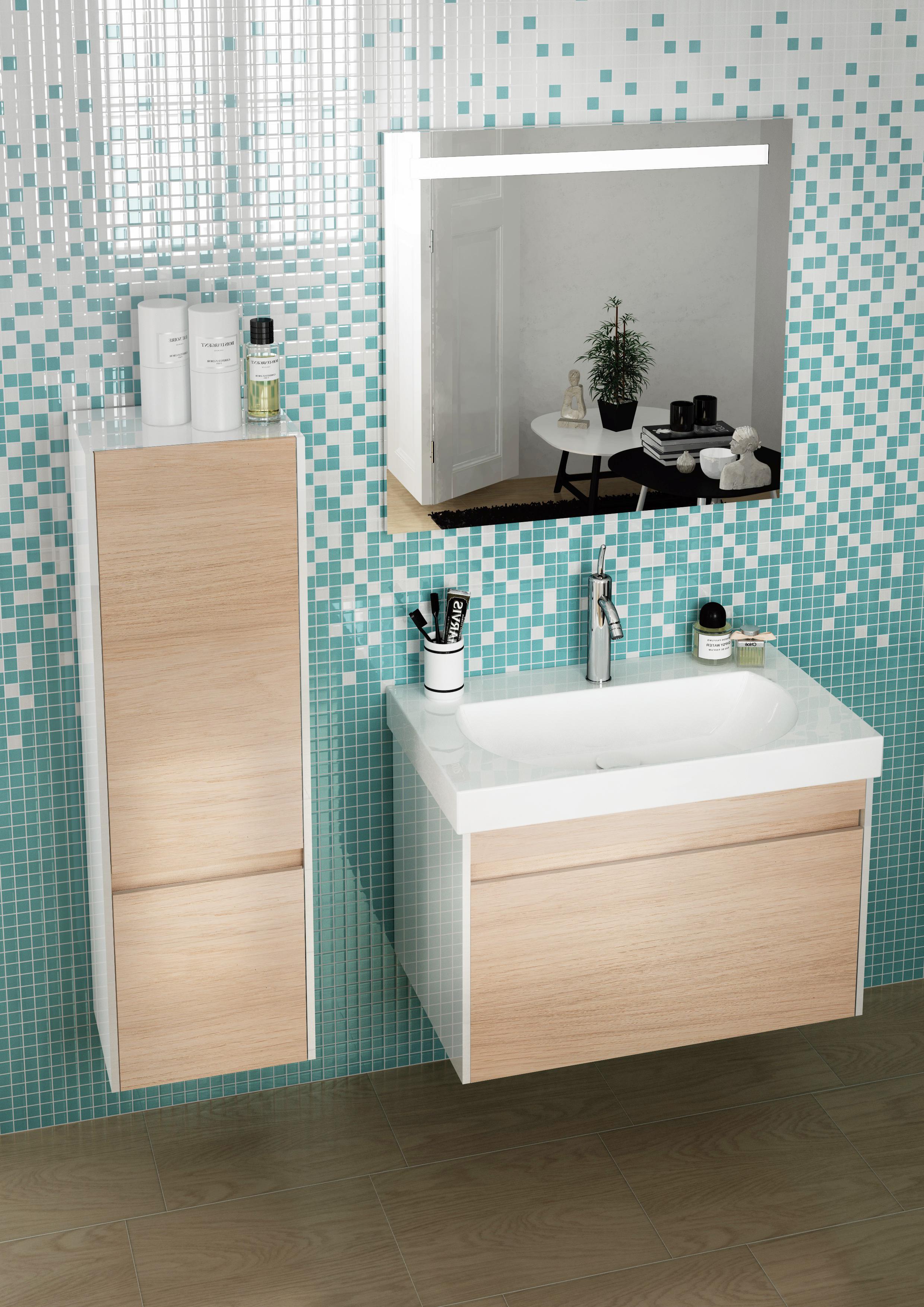 Мебель для ванной Kerama Marazzi Buongiorno 80 дуб