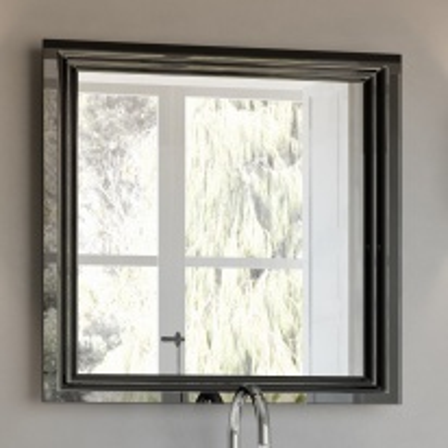 Зеркало Kerama Marazzi Pompei 80 черное