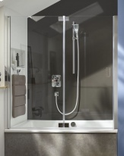 Шторка для ванны Jacob Delafon Capsule 120х80, E6D128-GA