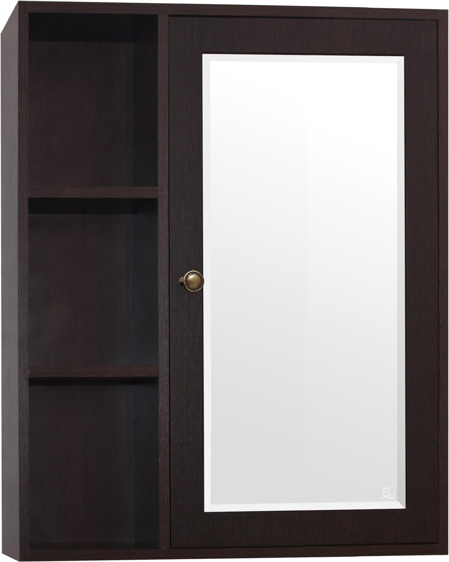 Зеркало-шкаф Style Line Кантри 65 венге