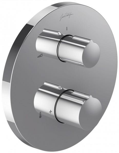 Смеситель Jacob Delafon Modulo Round E98731-CP для душа термостатический, на 2 выхода